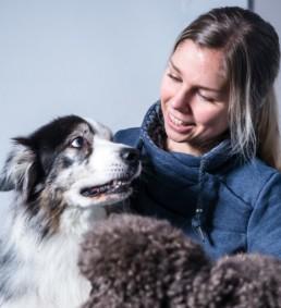 Eläinkouluttaja Mirva Paasonen